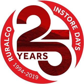 Ruralco Celebrates 25 years of Instore Days on 4th & 5th July 2019