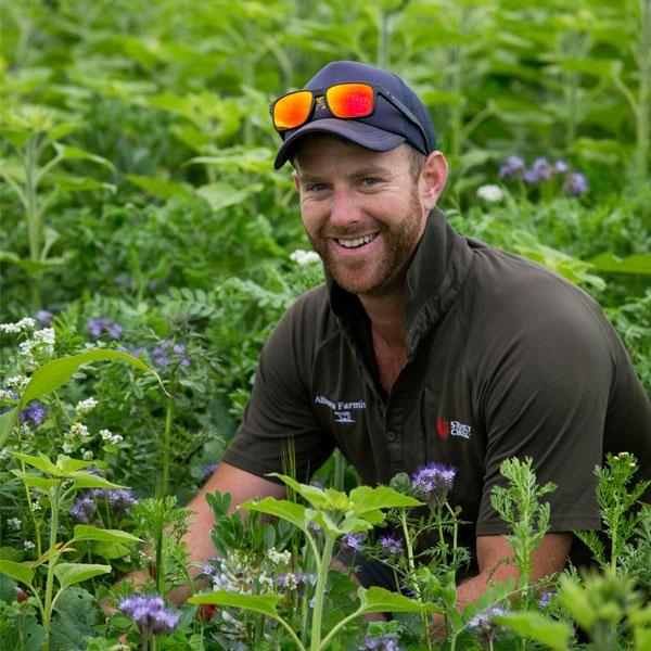 Farmer plots a regenerative journey