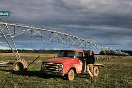 Ross Farm Truck pivot energy