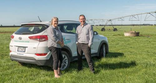 Energy advisers on the farm